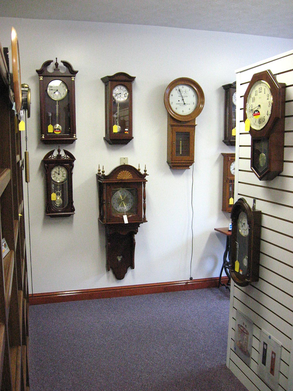 About bills clockworks of flora indiana hermle wall clocks amipublicfo Images