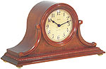 "Hermle 21132-N9Q ""Scottsville"" Battery-Operated Chiming Mantel Clock, Cherry"