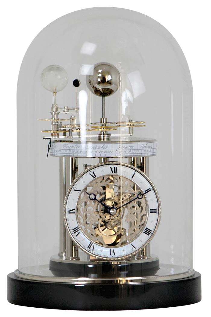 Hermle 22836 742987 Astrolabium Ii Orrery Clock Battery Operated