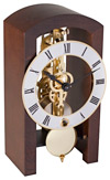 "Hermle 23015-030721 ""Patterson"" Windup Table Clock, Walnut"