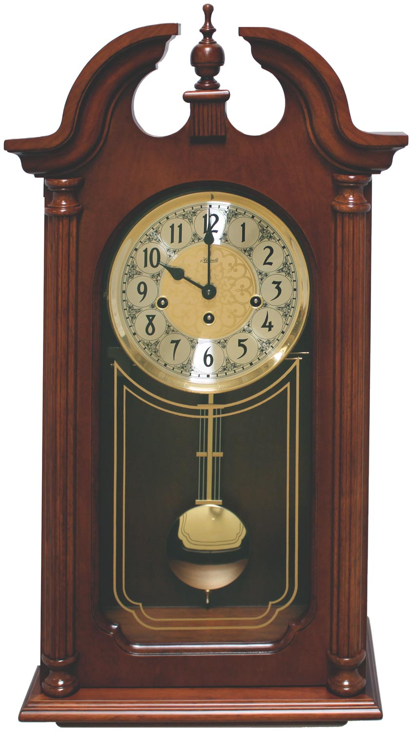 Hermle 70820 N90341 Quot Hopewell Quot Windup Chiming Wall Clock