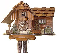Romba 1286 Jumping Squirrel One-Day Cuckoo Clock