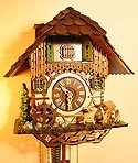 Romba 1316 Chimneysweep One-Day Musical Cuckoo Clock