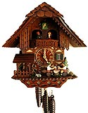 Romba 1389 Prosit! Chalet Musical One-Day Cuckoo Clock