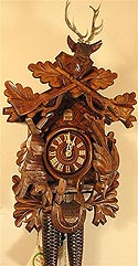 Romba 8220 Hunter's 8 Day Cuckoo Clock