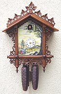 Romba 8222 By The River 8 Day Cuckoo Clock