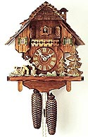Romba 8286 Woodchopper 8-Day Cuckoo Clock