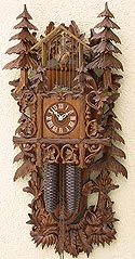 Romba 8295 Brambles and Birdcage 8 Day Cuckoo Clock