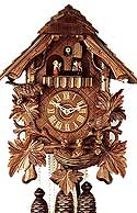 Romba 8307 Feeding Bird 8-Day Musical Cuckoo Clock
