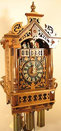 Romba 8364 8-Day Fretwork Musical Cuckoo Clock