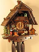 Romba 8370 Angry Hausfrau & Tailor 8-Day Musical Cuckoo Clock