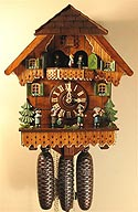 Romba 8390 Musicians 8-Day Musical Cuckoo Clock