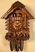 Romba 8391 Bears 8-Day Musical Cuckoo Clock