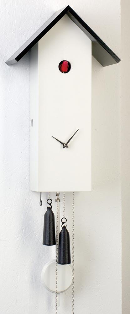 Romba Sl15 1 Simpleline One Day Cuckoo Clock White
