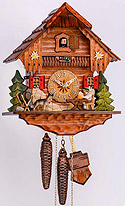Sternreiter 1248 One-Day Beer Drinker Chalet Cuckoo Clock