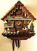 Sternreiter 1318 One-Day Beer Drinker Musical Cuckoo Clock