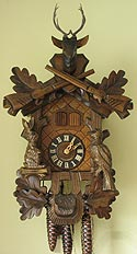 Sternreiter 1331 Hunting Model One-Day Musical Cuckoo Clock