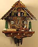 Sternreiter 1384 Shingle Maker One-Day Musical Cuckoo Clock