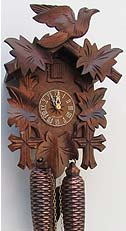 Sternreiter 8200 8-day Bird and Leaf Cuckoo Clock