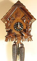 Sternreiter 8249 Feeding Birds Chalet 8-Day Cuckoo Clock