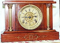 Seth Thomas 2 pillar adamantine clock